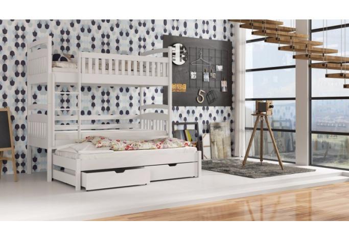 Arek 80 x 180 cm Trivietė lova