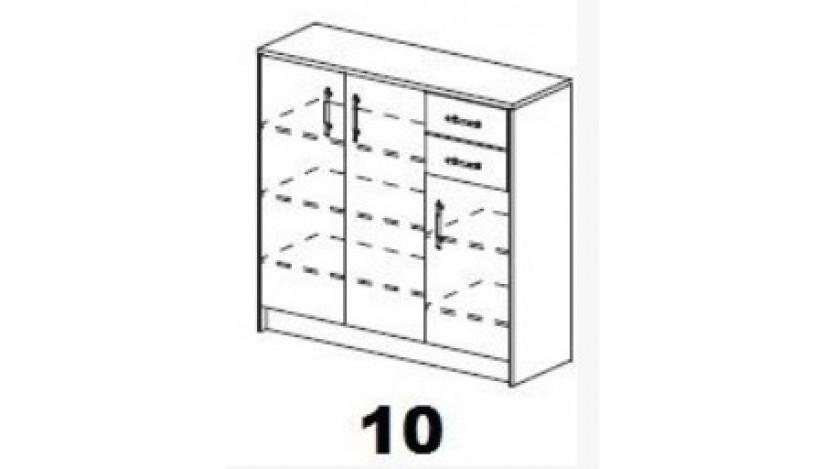 Batų Dėžė 10