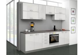 Virtuvės baldų komplektas Bianka 260 su orkaitės Spintelė