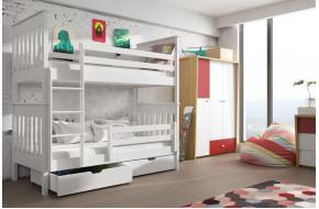 Bruno 90 x 190 cm Dviaukštė lova