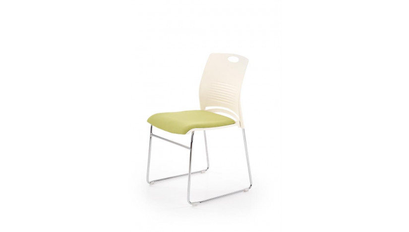 CALI Kėdė konferencinė balta žalia