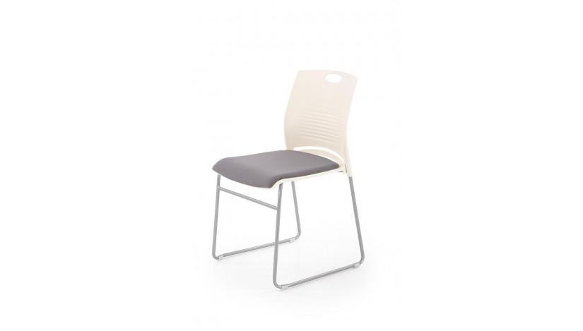 CALI Kėdė konferencinė balta pilka