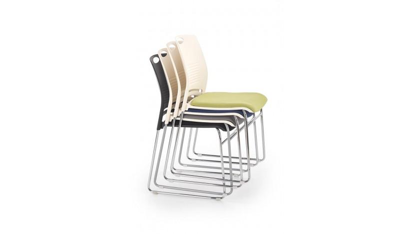 CALI Kėdė konferencinė balta mėlyna