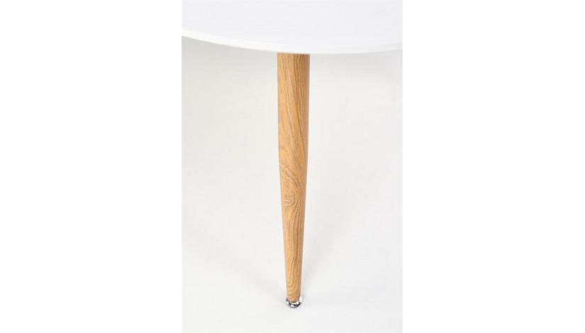 CALIBER Stalas ovalus išskleidžiamas 160-200 cm