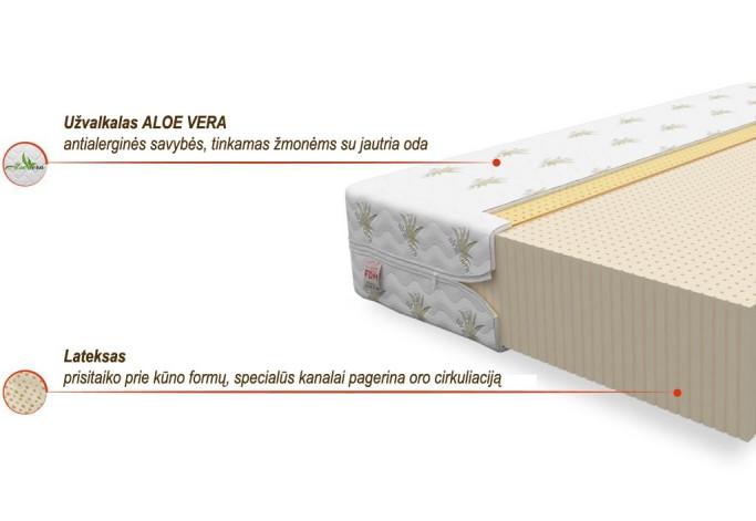 ALCAMO ALOE VERA 160 x 200 Čiužinys