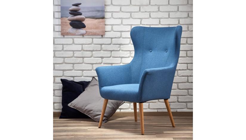 COTTO Fotelis mėlynas