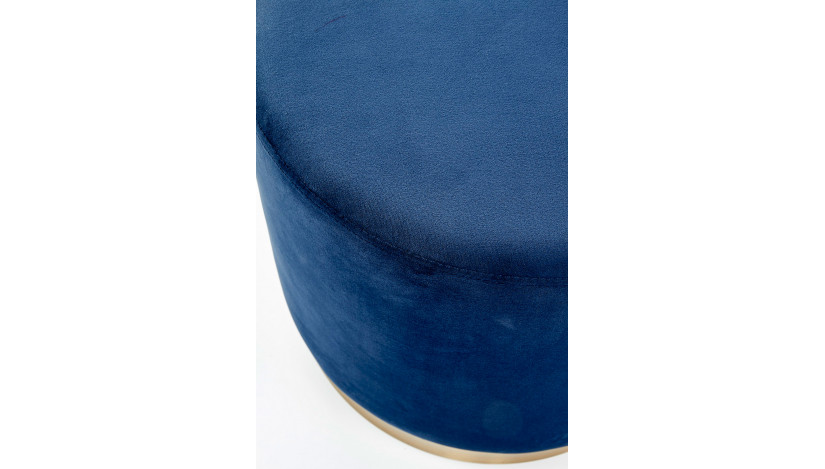 COVET Pufas apvalus mėlynas