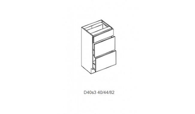 Spintelė COSTA MDF D 40s4 (4 arba 3 stalčiai)