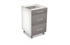 50 cm pastatoma spintelė 3S, Premium Line 3 stalčiai D 50 S/3