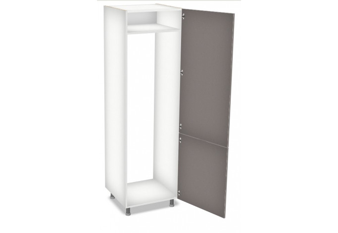 60 cm spintelė įmontuojamam šaldytuvui, Premium Line