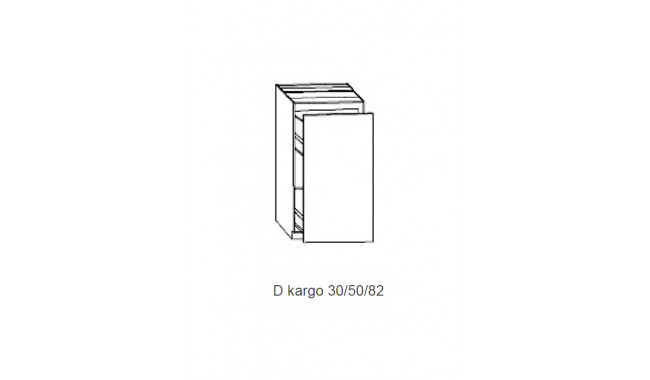 Spintelė COSTA MDF Dcargo 30/50/82