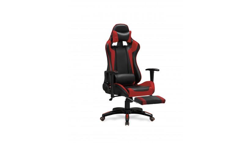 DEFENDER-2 Biuro Kėdė Juoda raudona