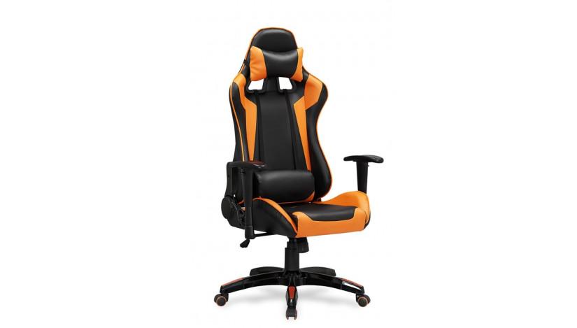 DEFENDER Biuro Kėdė Juoda oranžinė