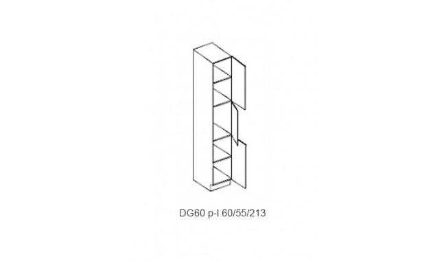 Spintelė COSTA RICA MDF DG60 / spinta Ūkinė 60/55/213