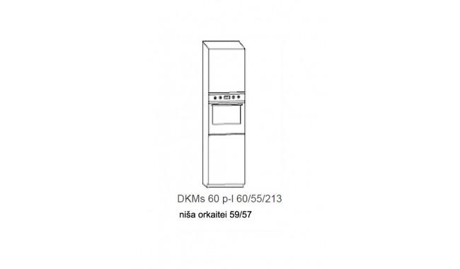 Spintelė COSTA MDF Dks60 įmontuojamai orkaitei