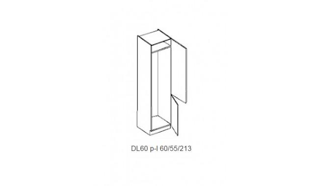 Spintelė CAPPUCINO DL60 įmontuojamam šaldytuvui