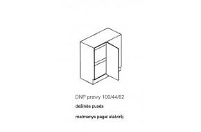 Spintelė COSTA RICA MDF DNP dešinės pusės 100/44/82
