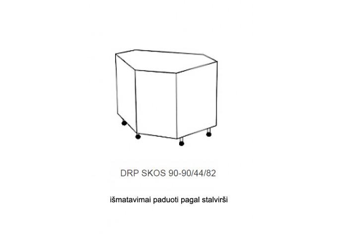 Spintelė COSTA MDF DRP 90x90 SKOS