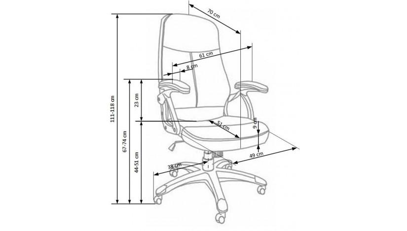 EDISON Biuro Kėdė