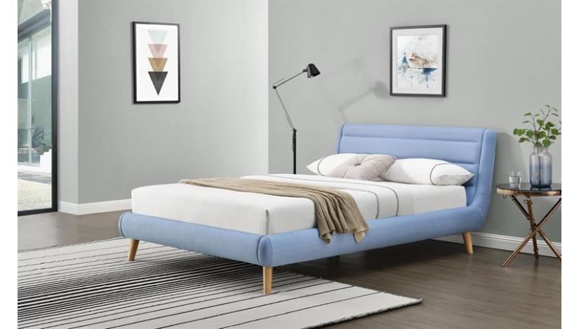 ELANDA 160 Miegamojo lova mėlyna
