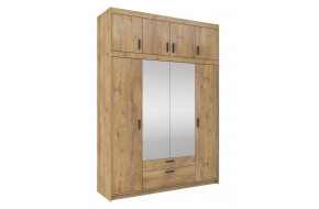 ELENA 4D spinta su veidrodžiu + antresolė