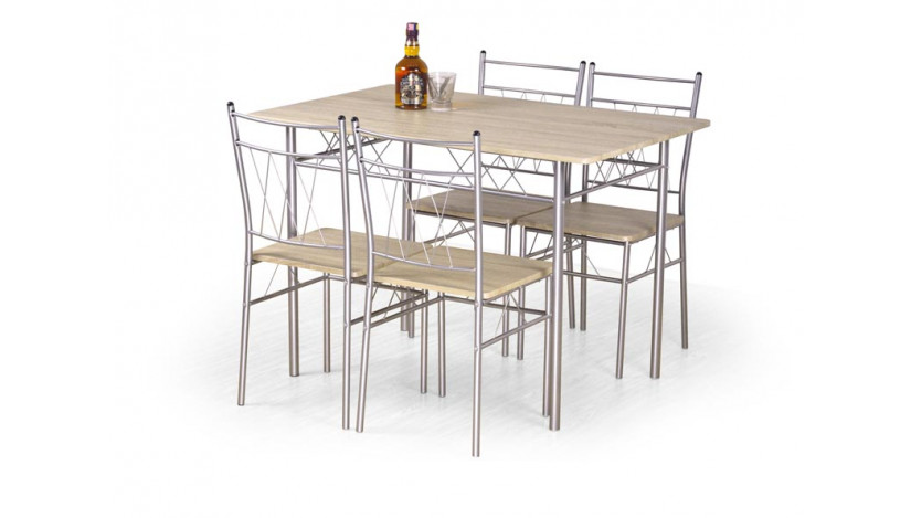 FAUST Stalas + Kėdės komplektas