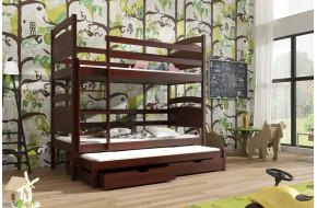 Fido 90 x 190 cm Trivietė lova