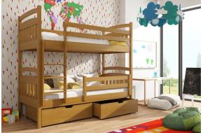 Gabi 90 x 190 cm Dviaukštė lova