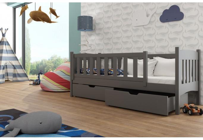 Gucio 80 x 160 cm Viengulė lova