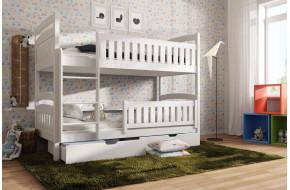 Ignas 90 x 190 cm Dviaukštė lova