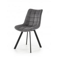 K332 Kėdė tamsiai pilka