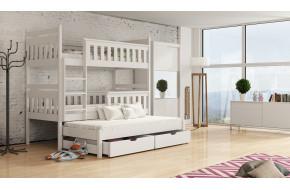 Kors 90 x 190 cm Trivietė lova