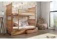 Lena 80 x 180 cm Dviaukštė lova