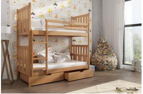 Lena 90 x 190 cm Dviaukštė lova