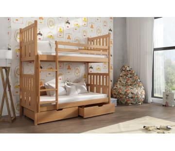 Lena 90 x 200 cm Dviaukštė lova