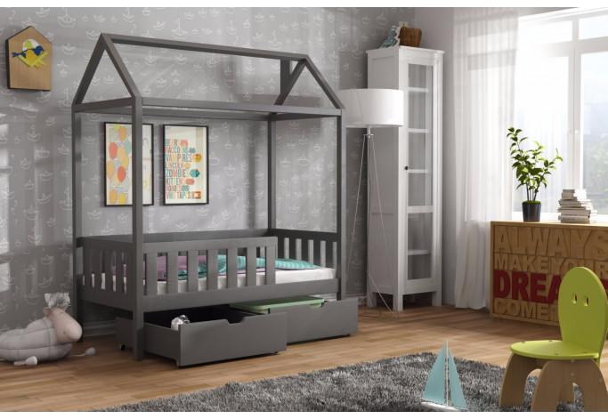Domi Viengulė lova su stalčiais 80 x 160