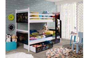 FUN 160 x 80 cm Dviaukštė lova