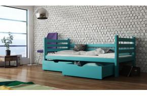 SIMON 160 x 80 cm Viengulė lova