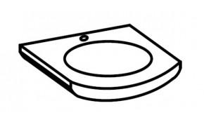 Kriauklė keramikinė NANCY UM 16