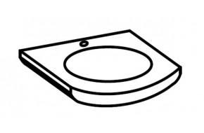 Kriauklė keramikinė NANCY UM 16 Kriauklė