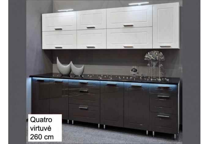 Spintelė QUATRO W 80 stiklas + durelės