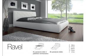RAVEL Dvigulė lova 160 x 200