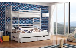Seweryn 90 x 190 cm Trivietė lova