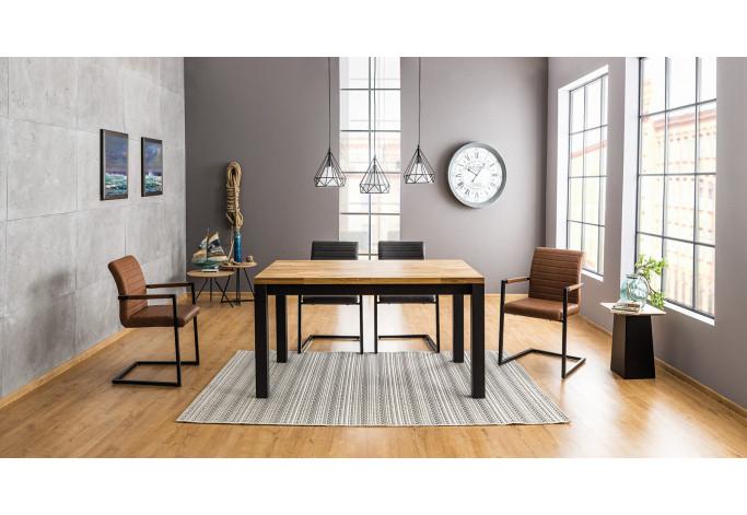 Stalas Imperial 150 / ąžuolo medžio masyvas stalas