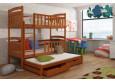 Viki 80 x 180 cm Trivietė lova