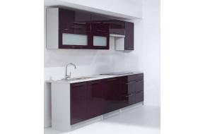 VIOLET 240 cm Virtuvės baldų komplektas
