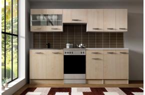 Virtuvės Komplektas Dominika 240 cm