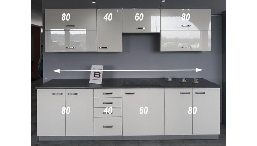 Bianka 260-1 Virtuvės baldų komplektas