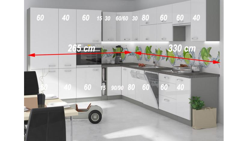 Bianka 595 Virtuvės baldų komplektas