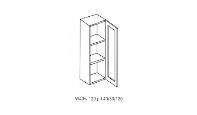 Spintelė CAPPUCINO W 40w - 120 stiklas permatomas